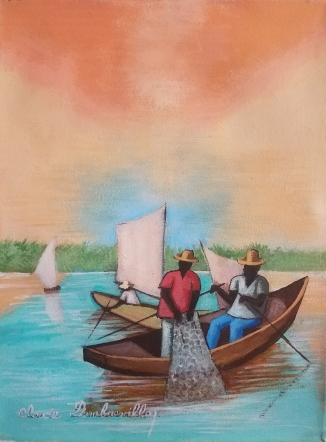 The Fishermen - 12x16